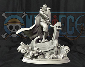 Red Hair Shanks V2 3d print statue - One Piece figurine