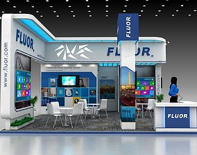 Exhibition stand 8x7 Mtr 3D