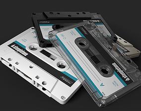 3D PBR Cassette Tape