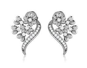 3D printable model Earrings - 71116-A