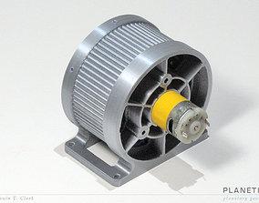 printable gearbox - PLANETIX