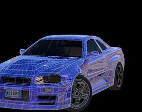 WIP skyline 3D model