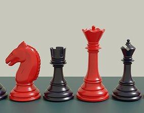 Classic Chess Set Pieces 3D Printable