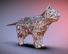 Standing Cat 3D printable model