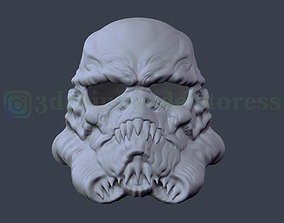 Stormtrooper Star Wars Zombie Helmet 3D printable model 3