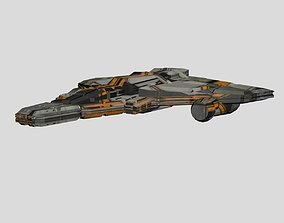 3D Printable Spaceship