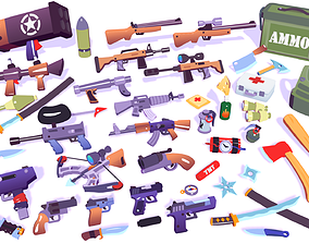 Hypercasual Action Props Pack Volume 1 3D asset