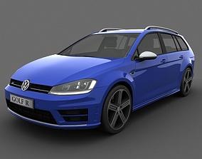 Volkswagen Golf R Variant 2015 3D model