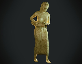 Female Statue 3D asset VR / AR ready