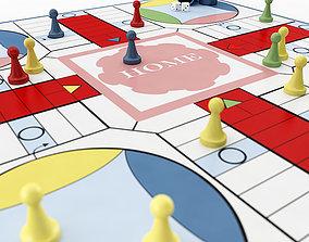 Parcheesi game 3D