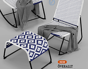 IKEA Armchair - Overallt - chair outdoor furniture 3D