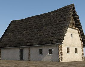 3D model Farmer Residence in the Middle Ages
