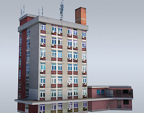 3D asset Communist administrative building