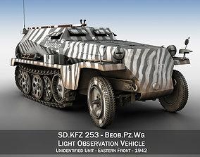 3D model SDKFZ 253 - Beob Pz Wg