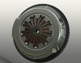 Clutch System 3D model