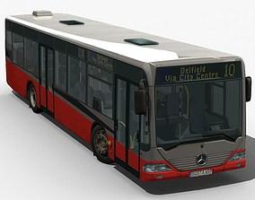 3D model City Bus - Mercedes Citaro textured
