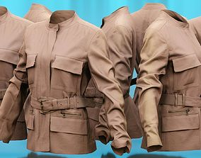 3D model Jacket Multiple Pockets