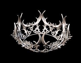regal Crown 3D model stl format file