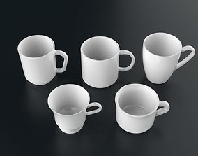 3D model Mug Collection 01