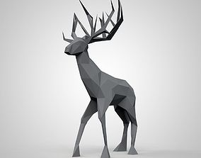 3D printable model animal art