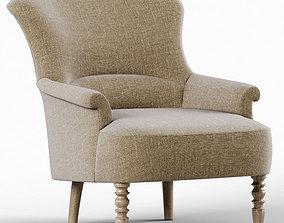 Restoration Hardware Josephine Chair 3D model