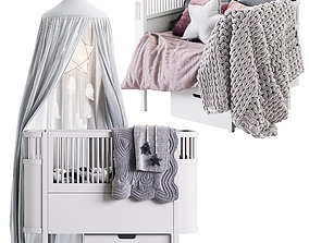 3D The Sebra Bed with canopy
