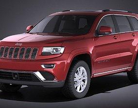 Jeep Grand Cherokee 2016 VRAY 3D