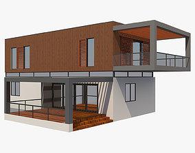 3D model Modern House 9