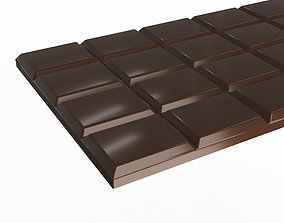 3D model realtime Chocolate Bar
