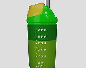 Baby Water-milk Bottle 3D