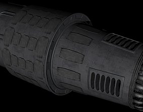 Small ship engine 3D