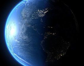 Earth in September 3D