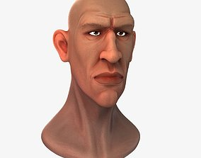 The Male Head 3D