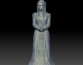 Daenerys woman statue 3D printable model
