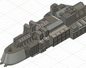 3D print model Kobold class ship Battle Fleet Gothic