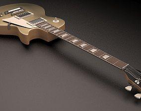 3D Gibson Les Paul TopGold