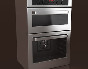 Zanussi Electric Double Oven 3D