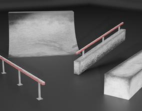 Skate Pack By Havudgij 3D asset