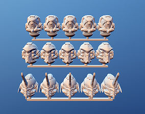 space helmets mk-evangelist 00-02 3D print model