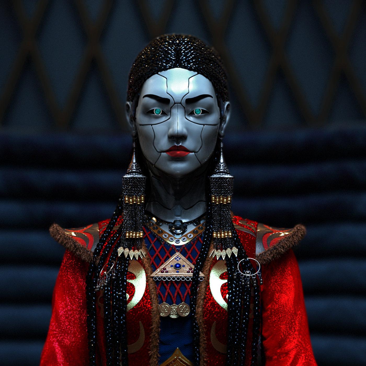 ''Kyrgyz Robo-Girl''