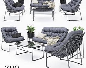 3D model ZUO outdoor furniture