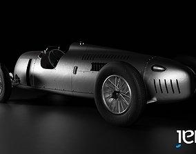 1936 Auto-Union Type C - Low Poly 3D asset
