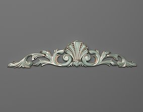 pediment Cartouche 3D printable model