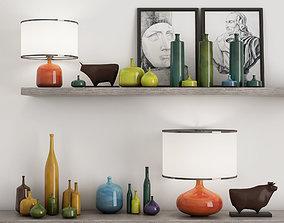 general-decor 3D printable model vase set