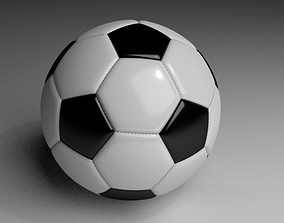 3D model sport Soccer Ball