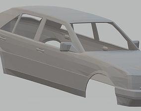 Mercedes Benz W124 E300 Printable Body Car