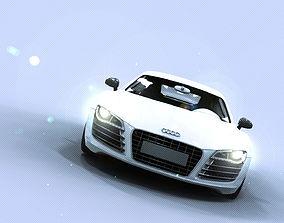 Audi R 3D model