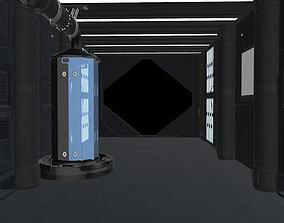 Sci-Fi Cryo Chamber 3D model