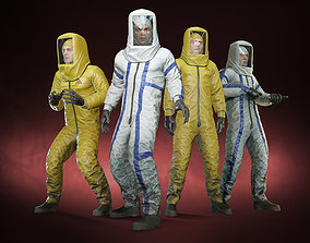 3D asset Pandemic man 02