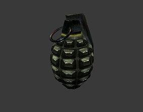 3D model realtime Frag grenade